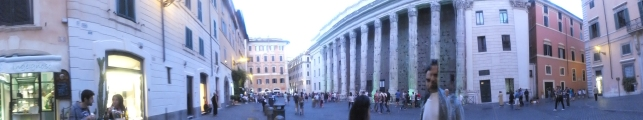 rome city centre panorama tour